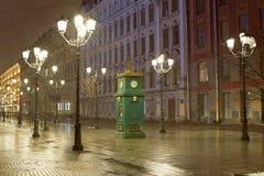 Clock barometer in St. Ptereburge Stock Photos