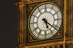 Clock of Big Ben tower, London Stock Photo