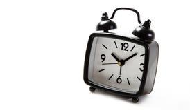 Clock black Stock Photo
