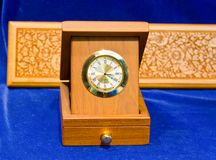 Clock box Stock Image