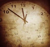 Clock and cakendar Stock Image