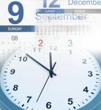 Clock and calendars Stock Photos