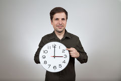 Clock change to wintertime Stock Photography