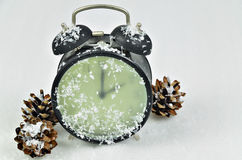 Clock Change Winter Time Stock Photos