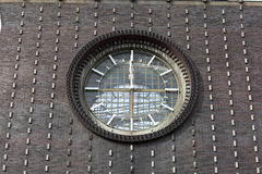 Clock of church of the Sacred Heart Stock Photos