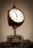 Clock at the city Bratislava Stock Photos