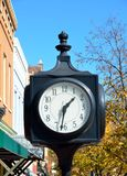 Clock in the city Royalty Free Stock Photos