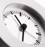Clock clean and simple Stock Image