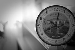 Clock. With a nice background Royalty Free Stock Photography