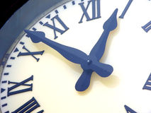 Clock close-up Stock Photography