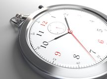 Clock close-up Royalty Free Stock Photos