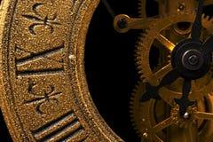Clock close-up Stock Photography
