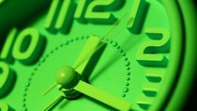 Clock close up footage. Close up of a modern analogclockface stock video footage