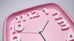 Clock close up footage Stock Images