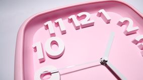 Clock close up footage Stock Photography