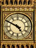 Clock closeup Royalty Free Stock Photo