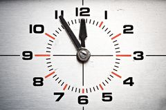 Clock closeup Royalty Free Stock Photos