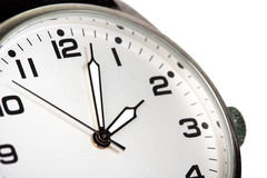 Clock closeup Stock Images