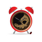Clock and coffee vector part two Royalty Free Stock Images