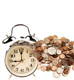 Time is money concept Royalty Free Stock Images