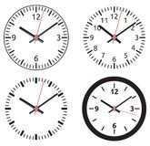 Clock collection Royalty Free Stock Photography