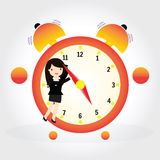 Clock concept Royalty Free Stock Photo