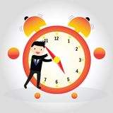 Clock concept Royalty Free Stock Image