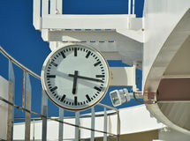 Clock on cruise ship Royalty Free Stock Photography