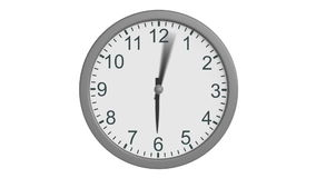 Clock stock footage