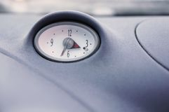 Car clock Stock Photo