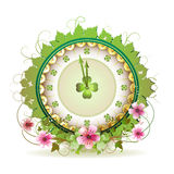 Clock design Royalty Free Stock Images