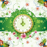 Clock design Stock Photography