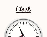 Clock design Royalty Free Stock Photography