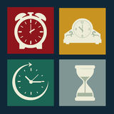 Clock  design Stock Photos