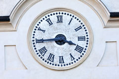 Clock detail Royalty Free Stock Images