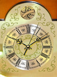 Clock dial Royalty Free Stock Images