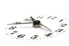 Clock dial close up Royalty Free Stock Photos