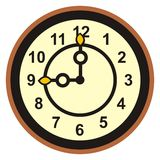 Clock, dial Royalty Free Stock Image