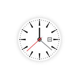 Clock dial timer Royalty Free Stock Image