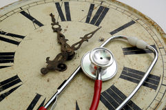 Clock Doctor Royalty Free Stock Image