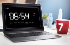 Clock Duration Time Leisure Hour Concept.  royalty free stock photos