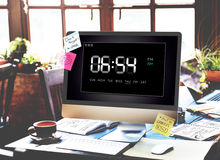 Clock Duration Time Leisure Hour Concept Royalty Free Stock Photography