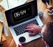 Clock Duration Time Leisure Hour Concept Stock Photos