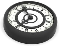Clock. eight o'clock Royalty Free Stock Image