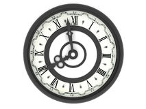 Clock. eight o'clock Stock Photos
