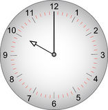 Clock face at 10 o'clock Royalty Free Stock Images