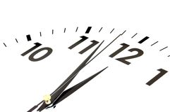 Clock face Stock Image