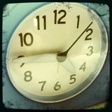 Clock face Royalty Free Stock Image