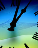 Clock face abstract Stock Photos
