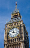 Clock face from Big Ben. The clock face from St Stephen's Tower or Big Ben royalty free stock photography